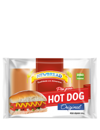 PÃO PARA HOT-DOG
