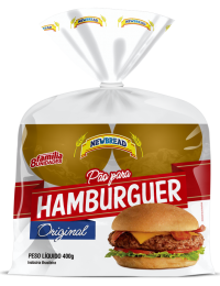Pão de Hamburguer - 400g